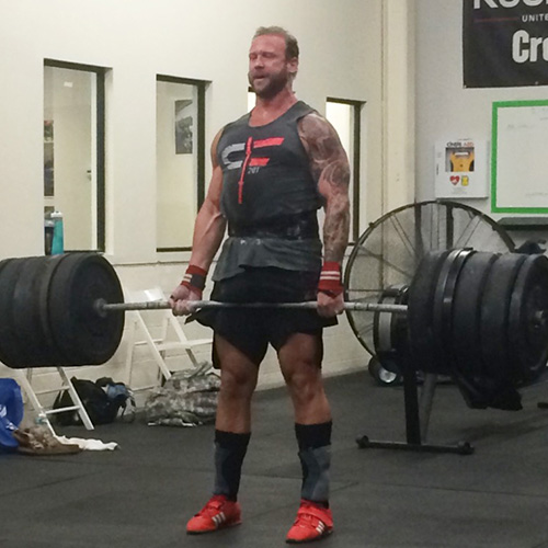 Dr. Garrick Cox - Deadlifting at the Gym
